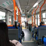 Picture of bus interior shows it to be quite small compared to most US buses.